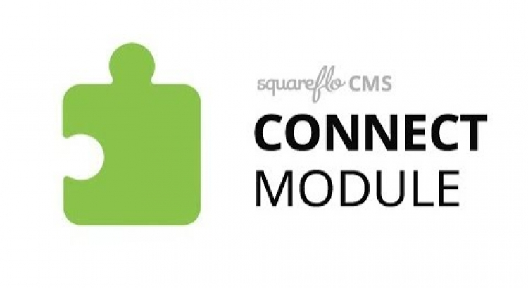 "How to use the ""Connect"" module in Squareflo's CMS"