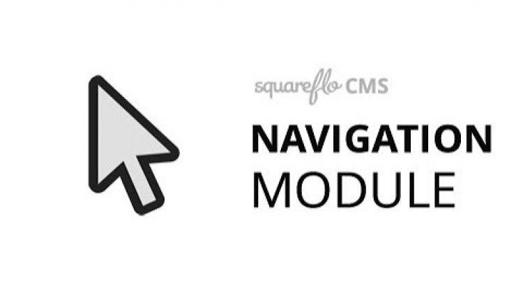 "How to use the ""Navigation"" module in Squareflo's CMS"